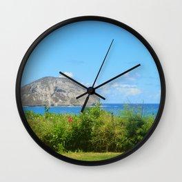 Hawaii Island Photo Wall Clock