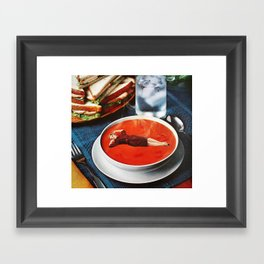 Mmm Mmm Good Framed Art Print