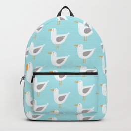 Beach Seagull Backpack
