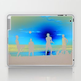 Football at Sunset. Laptop & iPad Skin