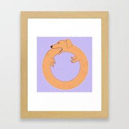 World Dog Framed Art Print