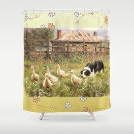 Farmyard Fun Shower Curtain