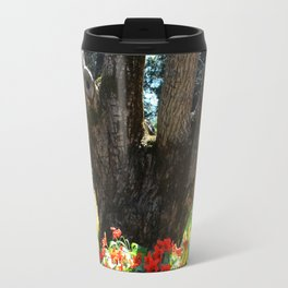 4 Trunks and Daffodils Travel Mug