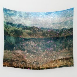 MM 333 . Purple x Mountain Scapes Wall Tapestry