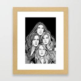 A Band Called Alice Framed Art Print