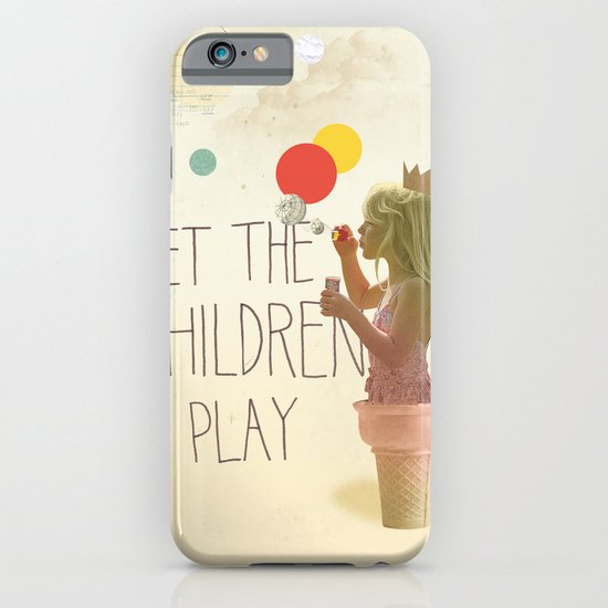 Let the children play iPhone & iPod Case