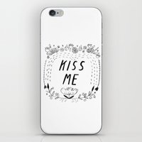 Kiss Me iPhone Skin