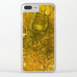 Golden Decor Home Honey Envy Clear iPhone Case