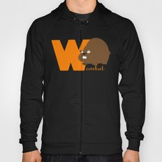 w for wombat Hoody