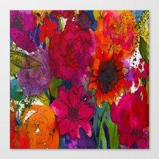 Into The Garden Canvas Print