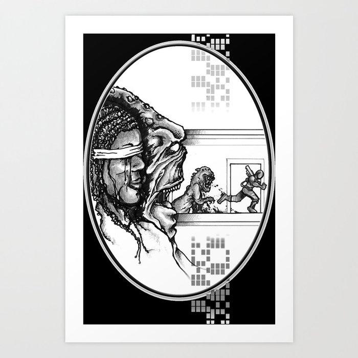 For Zanna - Illustration Art Print