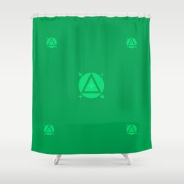 Visual Effect Shower Curtain