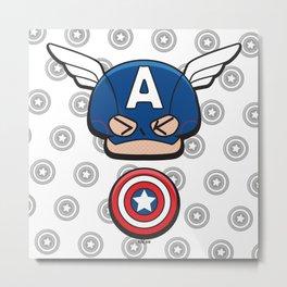 Captain Art  Metal Print