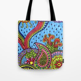 Sunshine after the rain Tote Bag