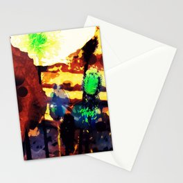 Les coquelicots [2] Copper tremens Stationery Cards