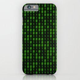 Binary Code Inside iPhone Case