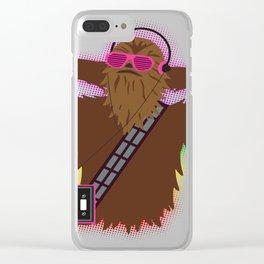 Wookieman Clear iPhone Case