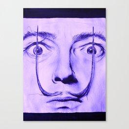 Purple Dali  Canvas Print