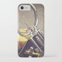 moto iPhone & iPod Cases featuring Moto by CMcDonald
