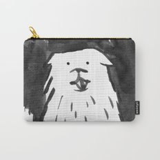 fluffy dog Carry-All Pouch