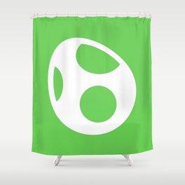 Green Egg Shower Curtain