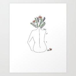 Free Soul, Clear Mind Art Print