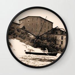 American Graphite Plant, Ticonderoga, NY 1930-42 Wall Clock