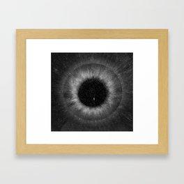 eye of the universe II Framed Art Print