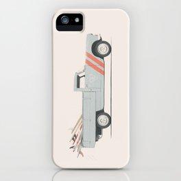Surfboard Pick Up Van iPhone Case
