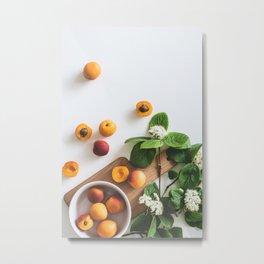 fruits and flowers #society6 #decor #buyart Metal Print