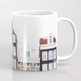 Crooked Houses - Amsterdam Architecture Photography Coffee Mug