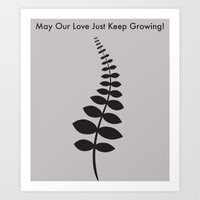 May Our Love Just Keep Growing! Art Print
