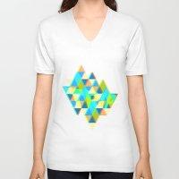 trip V-neck T-shirts featuring TRIP by Roman Drobot