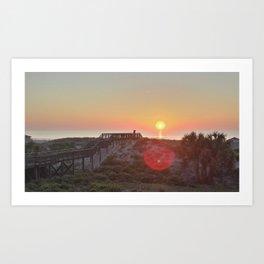 Atlantic Coast Sunrise Art Print