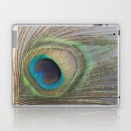 Peacock Feather No.1 | Feathers | Nadia Bonello | Ottawa | Canada Laptop & iPad Skin