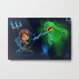 Ghostbusters Metal Print