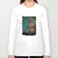 karu kara Long Sleeve T-shirts featuring Celestial Phenomenon by Klara Acel