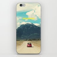 never stop exploring iPhone & iPod Skins featuring NEVER STOP EXPLORING III by Leslee Mitchell