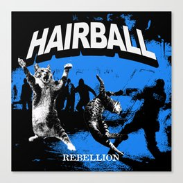 HAIRBALL Canvas Print
