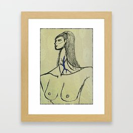 Bardot Framed Art Print