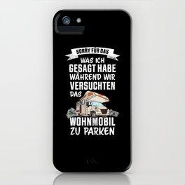 Lustiges Geschenk Wohnmobil Besitzer iPhone Case