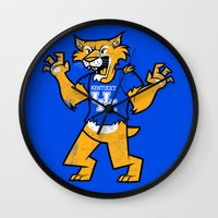 kentucky Wall Clocks featuring Kentucky by jublin
