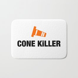 Cone Killer v4 HQvector Bath Mat
