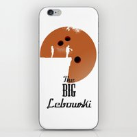 the big lebowski iPhone & iPod Skins featuring The Big Lebowski by Green Tusk