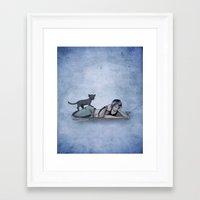helen Framed Art Prints featuring Helen by CRWarner