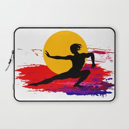 Martial art, karate, judo, aikido, self defence Laptop Sleeve