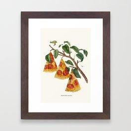 Pizza Plant Framed Art Print