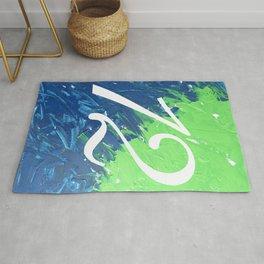 Blue & Green, 12, No. 3 Rug