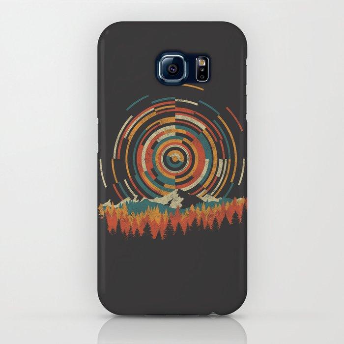 The Geometry of Sunrise iPhone Case