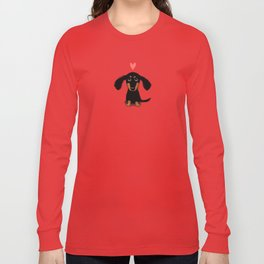 Dachshund Love Long Sleeve T-shirt
